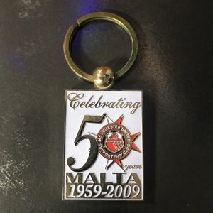 Keyring 50 Anniversary