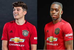 Daniel James and Aaron Wan-Bissaka