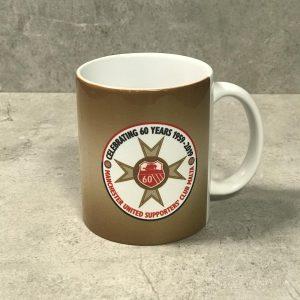 60 Year Mug Gold